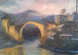 Mostar este // Evening in Mostar
