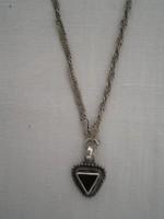 Gyönyörű ezüst nyaklác medállal