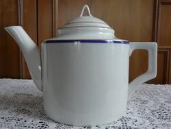 Zsolnay nagyméretű teás kanna