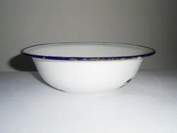 Zománcozott tál tálka - Bonyhád - 18 cm átmérő