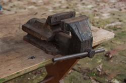 Asztali satu 150 mm-es