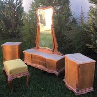 Chippendale - Barokk Bútor Komplett Hálószoba Garnitúra