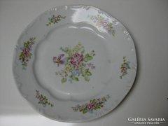 Zsolnay gyönyörű virágos  hibátlan ritka tányér