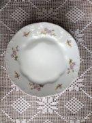 Zsolnay gyönyörű virágos hibátlan tányér