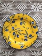 Francia olívás hibátlan tányér 18 cm