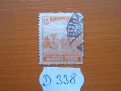 45 FILLÉR 1919 ARATÓ MAGYAR POSTA D338