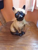 Nagy aranyos kerámia cica!