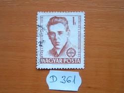 1 FORINT 1962 Berkes Ferenc (1893-1919) D361