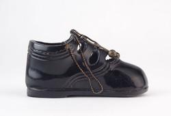 0O278 Kis méretű bronz cipő dísztárgy 12 cm