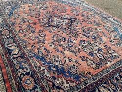Antik Sarough gyönyörű kézi csomózású gyapjú szőnyeg 296cmx228cm