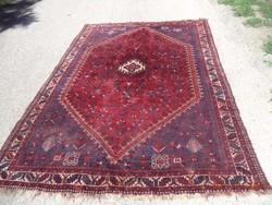 Antik Schiráz értékes kézi csomózású gyapjú szőnyeg eladó 305cmx203cm