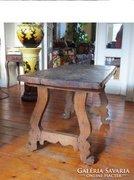 Spanyol asztal 1750-ből