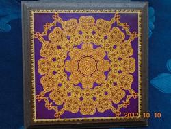 Fali dekoráció arabeszk