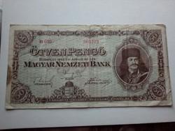 1945-ös 50 pengő F