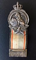 Bajor KIrályi 20. Gyalogezred, München jelvénye