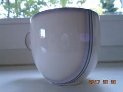 Designer kerámia kávés csésze-különleges forma és színvilággal-újszerű (2)