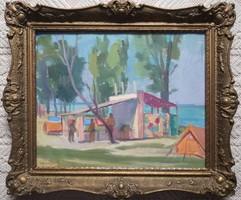Horváth Olivér : Balaton parton