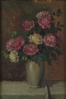 0O384 Jelzés nélkül : Asztali virágcsendélet