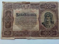 1920-as 100 Korona F
