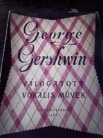 RÉGI KOTTA  -   George Gershwin Válogatott vokális művek