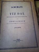 RÉGI KOTTA  -   Schumann   Tíz dal