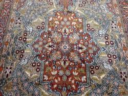 Isfahan selyem-gyapjú iráni kézi szőnyeg