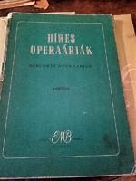 RÉGI KOTTA  -   Híres operaáriák (bariton)