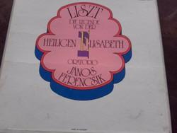 LISZT Die Legende von der heiligen Elisabeth 3 LP