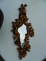 Különleges barokk tükör