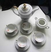 Régi kávéskészlet