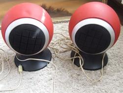 Ritkább retro Beag Hox55 gömb hangsugárzók