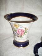 Royal  Dux  kézzel  festett  váza