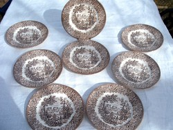 Angol  Ironstone süteményes  készlet
