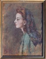 Halvax Gyula: Szép nő,1947
