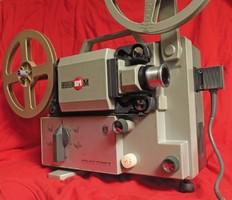 EUMIG MARK M Normál 8 filmvetítő gép, működő, újszerű