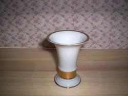 Régi Rosenthal kis tölcsér váza