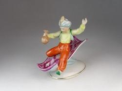 0O421 Kispesti Aladdin porcelán figura