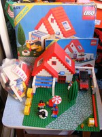 Retro Lego 6374 Holiday Home 1983-as széria