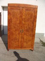 Szecessziós (csomoros nyár) szekrény