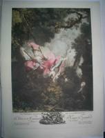Jean-Honore Fragonard metszet
