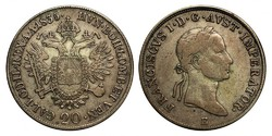 V. Ferdinánd 20 krajcár 1835 E.
