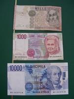 Olasz Bankjegyek.