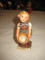 Hummel kislány   12  cm  , ragasztott
