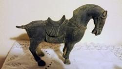 Régi dekoratív bronz ló