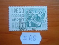 MEXIKÓ MEXICO 1 P 1950-52 A Crescent tánc, Puebla E46