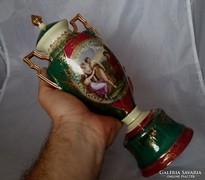 Antik gyonyoru altwien fedeles vaza