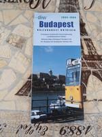 Budapest Közlekedési Hálózata térkép 2004-2004, BKV térkép