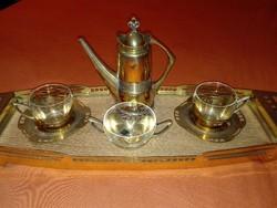 Argentor kétszemélyes kávés készlet