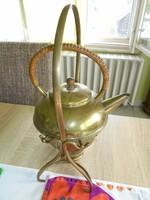 Régi réz teafőző/melegítő