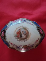 Altwien  porcelán bonbonier